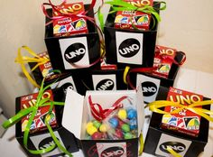 Uno Party Favors