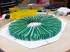 Vitrium sculpture in process -
