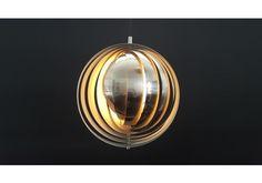 A Contemporary Verpan Version Of The Verner Panton 'moon' Lamp photo 1