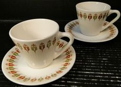 Syracuse China - Syracuse China Restaurant and Transportation Ware - Page 1 - DR Vintage Dinnerware and Replacements Syracuse Restaurants, Strawberry Hill, Syracuse China, Vintage Restaurant, Vintage Dinnerware, Cup And Saucer Set, Tea Cups, Plates, Tableware