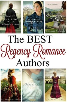 If you love to read Historical Fiction & Young Adult novels look no further than this Top Regency Romance Authors List! A collection of the best Clean Romance Authors to find a plethora of books to fill the hours! Best Fantasy Romance Books, Best Romance Novels, Romance Authors, Romance Movies, Romance Manga, Romance Art, Fiction Romance Books, Christian Romance Novels, Christian Fiction Books