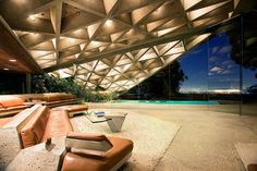 "A famous Los Angeles mansion that starred in ""The Big Lebowski"" will be open to visits from the public, thanks to its owner's generous donation to LACMA, the Los Angles County Museum of Art. The house was designed by well-known L.A. architect John Lautner (1911-1994) in 1961, an artist men ..."
