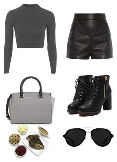 Untitled #46 by ezerys on Polyvore featuring polyvore, fashion, style, Topshop, Balenciaga, MICHAEL Michael Kors, 3.1 Phillip Lim and clothing