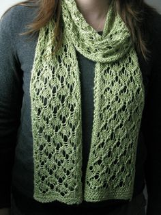 Mae Geri Scarf by Littletheorem / I have the perfect yearn for this :-)