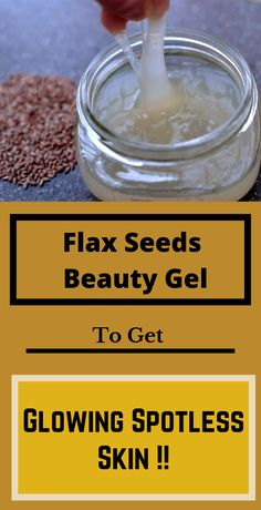 Flax seeds beauty gel to get glowing spotless skin !- Flax seeds beauty gel to get glowing spotless skin ! Flax Seeds Beauty Gel To Get Glowing Spotless Skin ! Beauty Care, Beauty Skin, Beauty Tips, Beauty Products, Diy Beauty, Beauty Ideas, Beauty Habits, Diy Products, Homemade Beauty