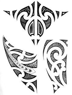 And we got loads more! Polynesian Tattoo Designs, Maori Tattoo Designs, Polynesian Tribal, Maori Tattoo Meanings, Maori Symbols, Filipino Tribal Tattoos, Samoan Tattoo, Maori Tattoos, Stammestattoo Designs