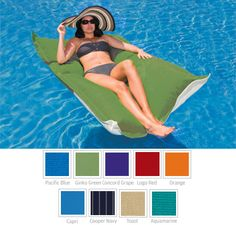 Check out the deal on Floating Luxuries Kai Lounger at Royal Swimming Pools