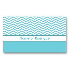 Fashion Boutique Aqua and White Chevrons Business Cards http://www.zazzle.com/fashion_boutique_aqua_and_white_chevrons_business_card-240206268508099725?rf=238835258815790439 #tiffanyblue #chevrons #businesscards #aqua #fashion