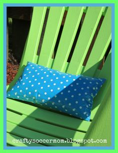 Crafty Soccer Mom: Outdoor Duct Tape Pillow