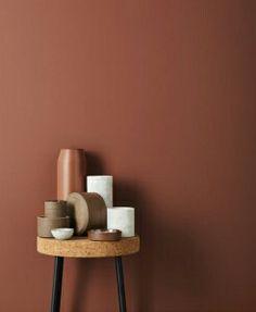 Un colore di tendenza per il 2017: il terracotta. lo trovate nell'home-tour in stile nordico