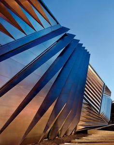 Zaha Hadid's design for the new Eli and Edythe Broad Art Museum at Michigan State University.