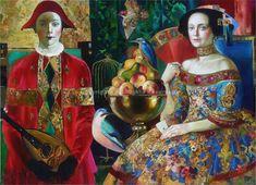 Els arlequins són un dels protagonistes de les festes de Carnestoltes. Olga Suvorova ens il·lustra un món barroc i oníric on la fig...