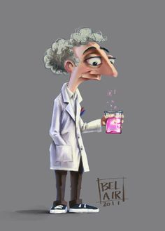 This could be Mr. Hutley, the science teacher that Oliver looks up to.