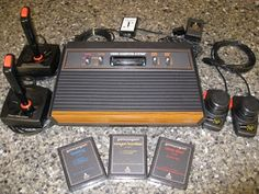 Atari...we had one in the EARLY 80's.