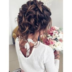 75 Chic Wedding Hair Updos for Elegant Brides ❤ liked on Polyvore featuring accessories and hair accessories