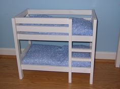 Doll Bunk Beds | Do It Yourself Home Projects from Ana White