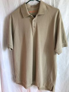 b37978561838 Men's 5.11 Tactical Polo/Rugby Size M Green Short Sleeve #511Tactical  #PoloRugby Rugby
