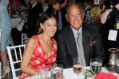 Sarah Jessica Parker & Oscar de la Renta at the Couture Council of FIT in NYC
