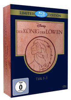 Der König der Löwen 1-3 - Trilogie Holzbox Blu-ray Limited Edition