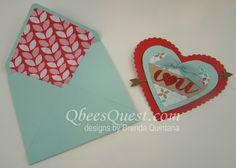 Envelope Punch Board Envelope Liner Tutorial