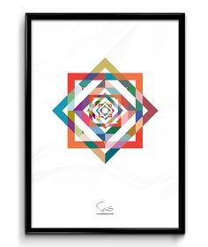 Colour Space ( A2 42x59,40 Cm )