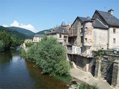 Saint Geniez d'Olt, Aveyron, Dept 12.