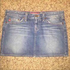 Big Star mini jean skirt Like new size 30 Big Star Skirts Mini