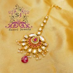Find wide range of fashion jewellery, imitation, bridal, artificial, beaded and antique jewellery online. Buy imitation jewellery online from designers across India. Call us on [phone] now to resolve your queries. Tika Jewelry, Head Jewelry, Baby Jewelry, India Jewelry, Wedding Jewelry, Jewelery, Gold Jewellery, Antique Jewellery Online, Bollywood Jewelry
