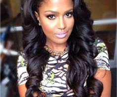 Long Black Hairstyles Entrancing 50 Best Eyecatching Long Hairstyles For Black Women  Pinterest