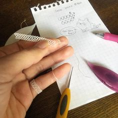 tatting_maimaieasy pattern #tatting #maimaikaito #maimairecipe #originalpattern #pinky #ring #yarn #160 #cat #レース糸160番 #タティングレース