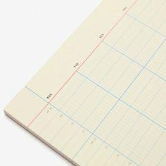 Weekly Desk Notepad by Poketo (http://poketo.com/shop/stationery/Weekly-Desk-Notepad)