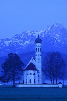 Like. Unlike this.. I actually took a really lame photo here before. St. Coloman, Bavaria, Germany, photo by Ionut Iordache.