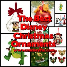 The Best Disney Christmas Tree Ornaments