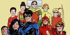 """roywallys: """" things i miss about pre-nu52 dc: the original teen titans """""""