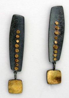 Sydney Lynch, long inca earrings