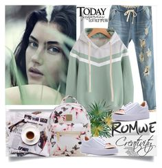 """ROMWE II/3"" by creativity30 ❤ liked on Polyvore featuring vintage and romwe"