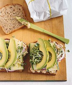 Smashed White Bean and Avocado Club recipe #vegetarian #vegan