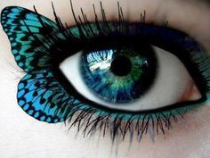 """fluttering"" eyes"