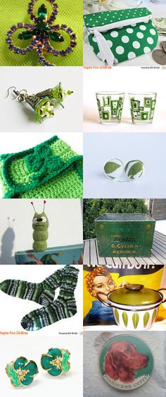 St. Patrick's Day Finds! by livingavntglife on Etsy--Pinned+with+TreasuryPin.com