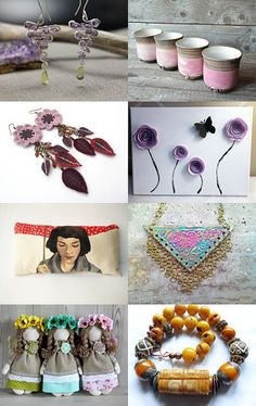 Spring in the air by Maria Grazia Pileggi on Etsy--Pinned with TreasuryPin.com