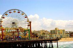 Santa Monica Boardwalk,  Santa Monica, CA