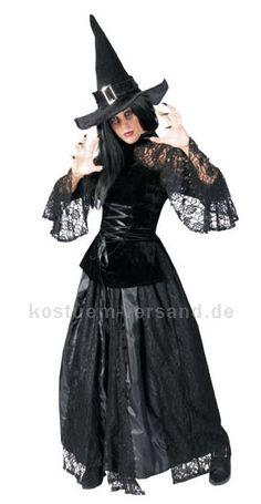 Hexe Kostüm Kleid Christin