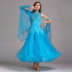 Ballroom+Dancewear+Woman's+Elegant+Ballroom+Dance+Dress(More+Colors)+–+USD+$+89.99