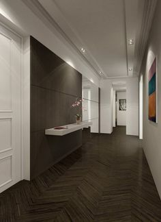 Olivier Lempereur…… floors and walls. love how the finish is so clean