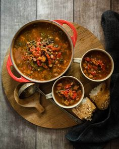 Serve up a big bowl of this hearty Piquanté Pepper Veggie Lentil Soup recipe this evening. Wonderfully warming soul food loaded with nourishing ingredients. Veggie Lentil Soup, Lentil Soup Recipes, Healthy Soup Vegetarian, Vegetarian Recipes, Big Bowl, Winter Food, Lentils, Soul Food, Dinner Recipes