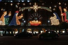 From:Christmas lights around the world I love this- would love to see it in person one day- Christmas Images, All Things Christmas, Winter Christmas, Xmas, Christmas Light Displays, Christmas Lights, Mexico City, Holiday Travel, Christmas Traditions