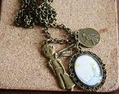 Collane bronzo con cammeo *PICCOLO PRINCIPE* : Collane di shopping-cat-bijoux