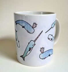 The fact that none of you have already bought me this adorable Narwhal Mug kind of makes me feel like you don't love me at all... $17.00 on etsy... it's my birthday soon :P