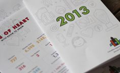 COR Annual Report 2013 on Behance