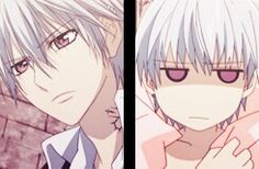 Zero Kiryuu (hehe) I really miss his poker face with those cute little purple eyes ^^ #VampireKnight
